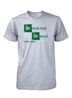Jesus Breaking Bread Last Supper Easter Christian T-Shirt for Men