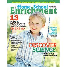 One-Year Magazine Subscription to Homeschool Enrichment!