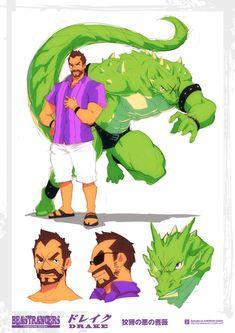 Beast Rancer Drake by javidavie on DeviantArt
