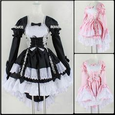 Cheap costume halloween, Buy Quality halloween puppy costume directly from China halloween rosette Suppliers: Halloween Costume For Women Girls Sexy Sissy Maid Uniform Sweet Gothic Lolita Dress Anime Maid Cosplay Costume
