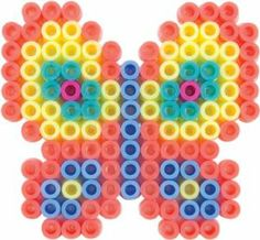 Perler Beads Fused Bead Kit, Pastel Butterfly by Perler Beads. $3.99. For ages 6 years and above. Kit contains 227 pieces. Includes details to download a free pattern. Creative and fun-filled activities with Perler Fused Bead Kits. Features small color square pegboard. From the Manufacturer                Enjoy a fun-filled activity with the Perler Pastel Butterfly Fused Bead Kit. Each kit includes pretty bead colors, square pegboard, ironing paper, and easy to fo...