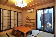 京都の伝統家屋 町家の貸切の宿 朱雀若草庵_1階和室 kyoyadoya Japan kyoto machiya inn