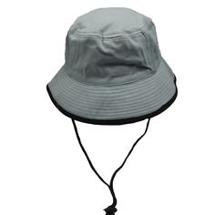 8cfc28b20aa Cotton Bucket Hat with Stitched Brim