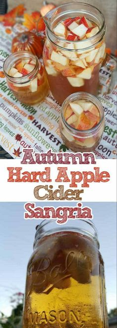 Autumn Hard Apple Cider Sangria 20 Best Thanksgiving cocktail recipes Easy to do it Get our best recipes for Thanksgiving cocktails and drinks. Enjoy it Apple Cider Sangria, Hard Apple Cider, Cider Cocktails, Fall Cocktails, Fall Sangria, Holiday Drinks, Sangria Wine, Popular Cocktails, Winter Drinks