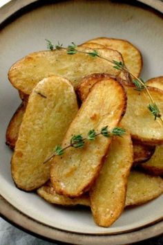 Best Potato Recipes- Delicious St. Patrick's Day Potato Snacks-SALT AND VINEGAR BROILED FINGERLING POTATOES-Broiled in just 15 minutes, your crew can enjoy the natural sea salt and pepper flavored comfort food-style snack. Head over to redbookmag.com to new and exicintg potato recipes.