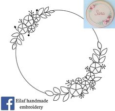 Hand Embroidery Patterns Flowers, Embroidery Hoop Crafts, Hand Embroidery Videos, Embroidery Stitches Tutorial, Creative Embroidery, Simple Embroidery, Hand Embroidery Stitches, Hand Embroidery Designs, Ribbon Embroidery