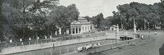 De brug over de Kali Tjiliwoeng  in Harmonieplein te Batavia 1917.