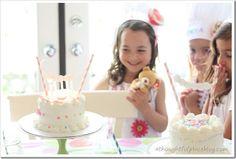 Bake shoppe birthday party... so cute!