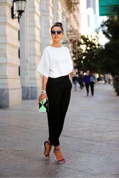 Black and white fashion craze #blackandwhite #fashion