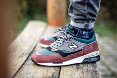 "New Balance 1500 ""Red & Teal"" (Made in England) - EU Kicks: Sneaker Magazine"