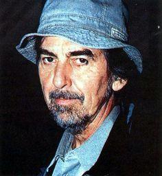 George Harrison (a hat makes a man)