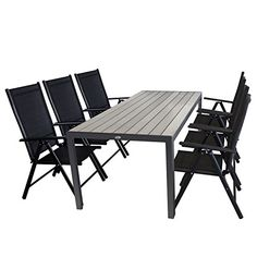 4 cubes chaises de jardin poly rotin Bistro Meubles Set Table en verre noir 60x60cm