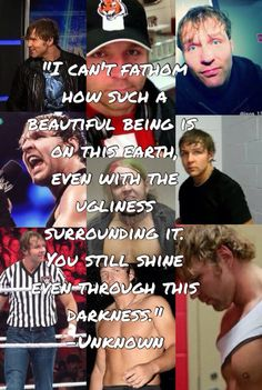 I saw this quote on Pinterest and so I made a PicCollage. credit to Ambrose_Orton_Chick