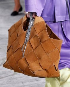 The Daily Bag: A dream weave from @Loewe. Photo by @firstviewphoto.