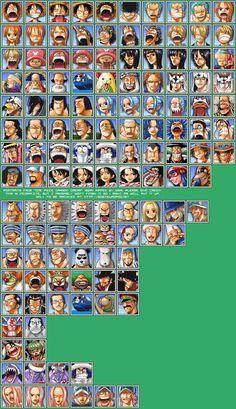 Sprite Database : Faces