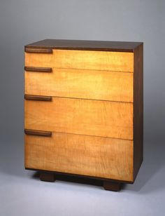 Gilbert Rohde chest of drawers, 1933