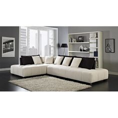Found it at AllModern - Almira Sectional