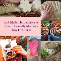 Kid-Made Herbalicious & Earth Friendly Mother's Day Gift Ideas — Mama Rosemary