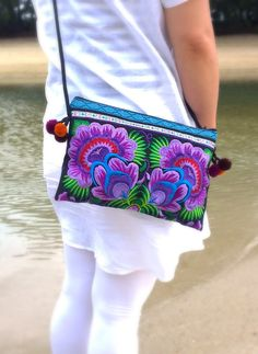 A personal favourite from my Etsy shop https://www.etsy.com/sg-en/listing/245988164/boho-hmong-embroidery-crossbody-bag