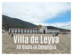 (Deutscher Text am Ende des Artikels.) In Santander, a departamento in the northeast of the country, you can experience a completely different Colombia. Oasis, Louvre, Country, Building, Travel, Villa De Leyva, Colombia, Construction, Trips