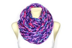 Super Chunky Scarf Cowl Snood Scarf Big Oversized Scarf Wrap Oversized Scarf Bulky Present Cowl Large Scarf Winter Infinity Scarf Xmas Gift
