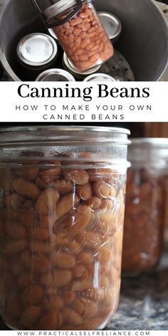 Canning Beans, Canning Lids, Home Canning, Pressure Canning Recipes, Cooking Recipes, New Recipes, Favorite Recipes, Canned Food Storage, Quick Weeknight Meals