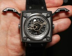 """""""I believe I can fly..."""". Attracting me more than any Big Bang (sucker for square cases): Hublot Antikythera SunMoon MP-08"""