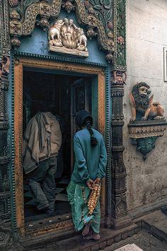 Alleyways of Benares