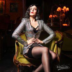 Wilhelmina Af Fera, Photo by Maria Kimalle #burlesque