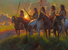 Mark Keathley does poetic justice with Native Sun, with all its sentimental and nostalgic portrayals of romanticized Native American Art. Description from gabrieldiegodelgado.blogspot.com. I searched for this on bing.com/images