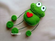 Feltie frog