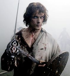 "outlander-news: "" Sam Heughan from the book 'The Making of Outlander' | Outlander Season 2 """