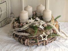 Adventskranz - Adventskranz * Waldeslust * - ein Designerstück von KRANZundCo bei DaWanda