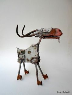 Collas, goat, assembly, art More