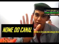 NOME DO CANAL - YouTube