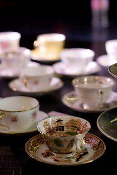 Teacups by Eleonore Bridge