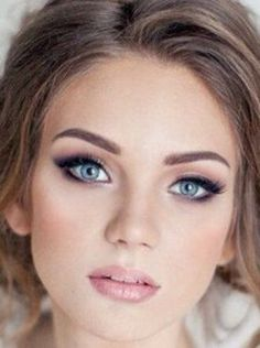 Beautiful make look that could be wore even to a wedding!