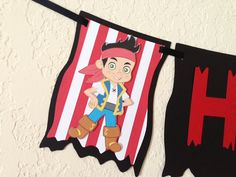 Jake and the Neverland Pirates banner Jake and the by NiuDesigns, $24.00