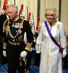 dailymail:  State Opening of Parliament, May 27, 2015-Prince of Wales and Duchess of Cornwall
