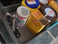Organize baking supplies   ... Adventures of Pam & Frank: Kitchen Tip: organize your baking supplies