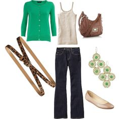 Busy & chic mom on the go, created by chicandgreen on Polyvore