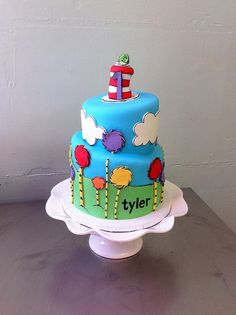 Birthday cake cat dr suess ideas for 2019 Dr Seuss Party Ideas, Dr Seuss Birthday Party, Birthday Cake, Birthday Ideas, Cupcakes, Cupcake Cakes, Dr Suess Cakes, Dr Seuss Baby Shower, Bolo Cake