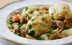 Chicken or Turkey Soup with Dumplings