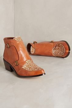 Sanne Speckled Booties #anthropologie