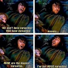 Gosh, he's such a clown! It's amazing when you see an actor go from a dreary character in one film/show, to the most bubbly in another. Haha! I <3 Kili.