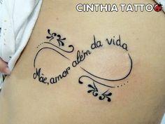 tatuagem simbolo do infinito pai e mae 5