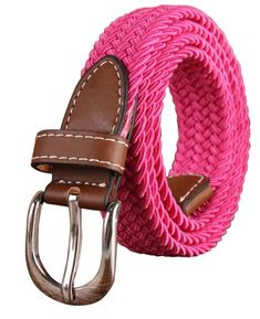 288a9b24b FIDUCIAL Ladies Design Quality Knitted Canvas Belts Women Female Fashion  Accessories Jeans Many Colours Choice.
