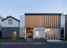 대전 노은동 단독주택 Building A House, Architecture Design, Doors, Mansions, House Styles, Interior, Outdoor Decor, Concept, Home Decor