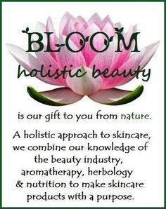 BLOOM holistic beauty products are our gift to you from nature. Check us out! Aromatherapy Products, Beauty Products, Pure Products, Infused Oils, Holistic Approach, Beauty Industry, Pure Essential Oils, Herbalism, Knowledge