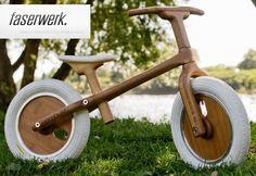 bambuki :: beautiful bamboo balance children's bike #kidsdesign #nowforkids